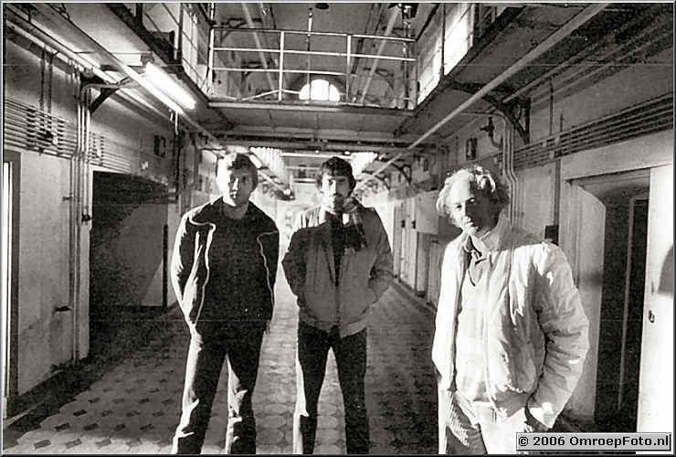 Foto 2-25. Gevangenis Leidse Plein Ben Kastermans - Peter Lam - John Carlee