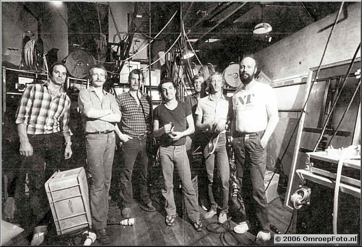 Foto 2-26. Carre 1980 Jan Steenman - Henk Bergsma - Stef de Wit - Andy Toen - Ben Kastermans - Jaap