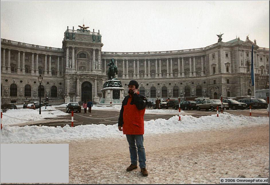 Foto 3-50. Thijs Postma in Wenen