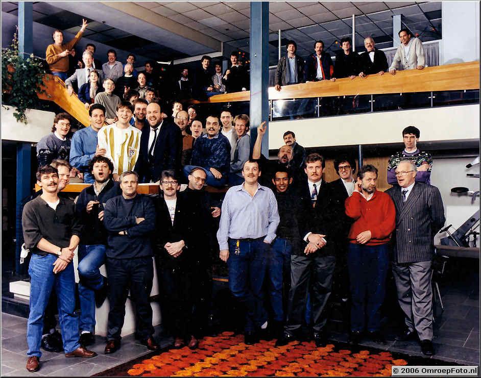 Foto 4-63. Afdeling Licht 1986