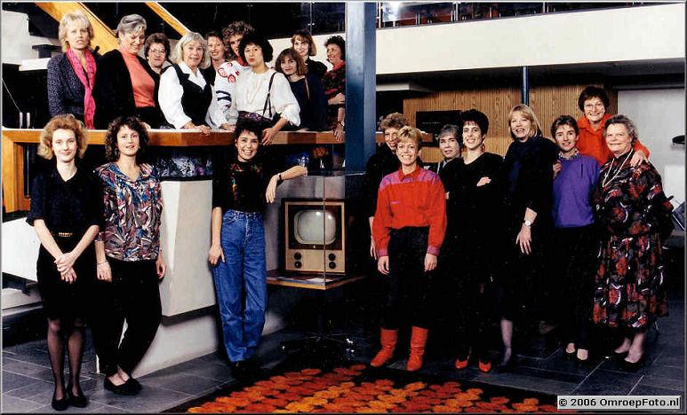 Foto 4-65. De aanhang van de Afdeling Licht 1986