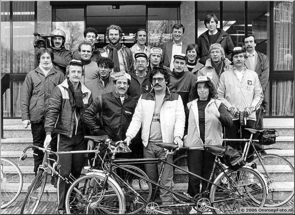 Foto 4-69. Op de fiets naar de TedShow