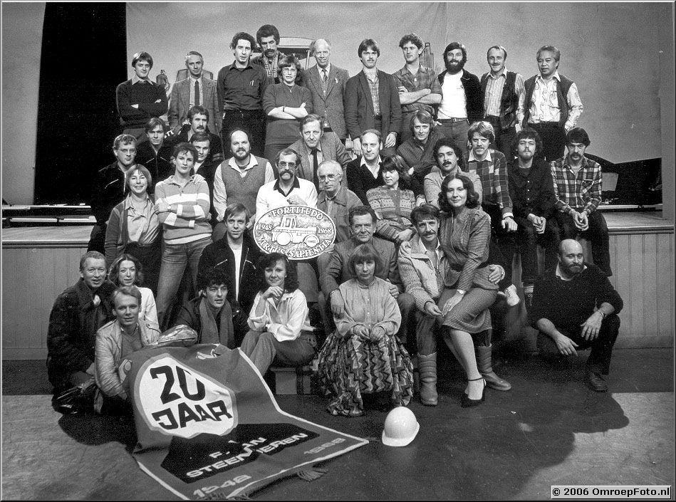Foto 4-79. 'De Weg' - 1981-1982 Ot Masno, Bart Doets, Herman Ottink, Willy van Hemert, Jan de Jong, Frits Hilhorst, Sjoerd Pleysier