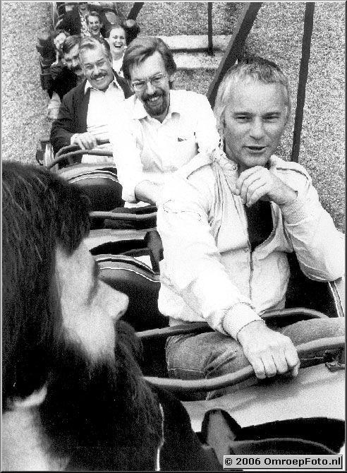 Foto 5-99. AchtBaan Valkenburg - 1980 van voor naar achter  Bart Doets, Henk Walison, ?, Frans Murilof en Rob Vergeer