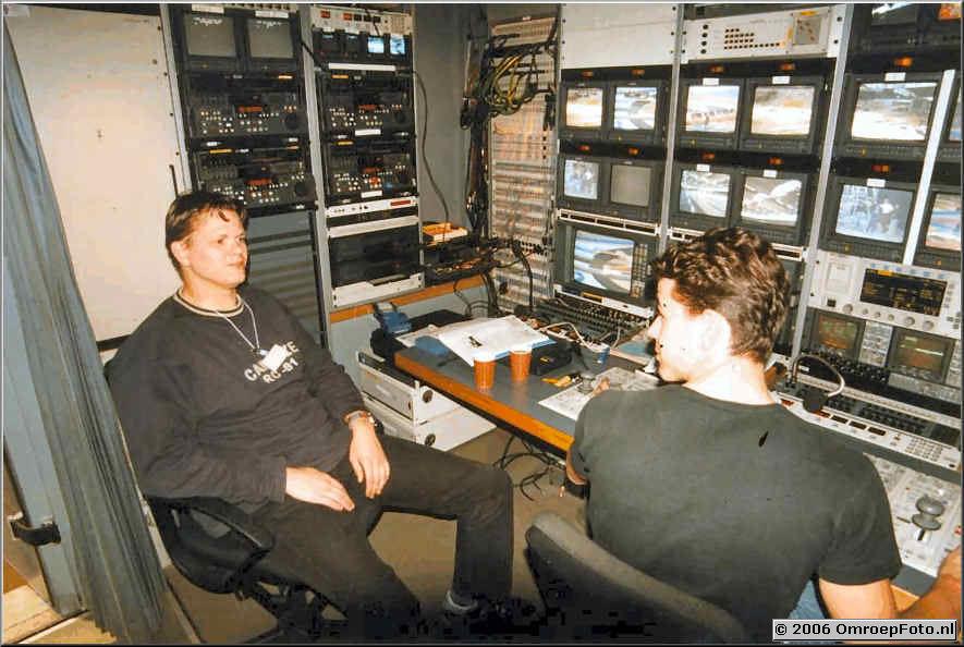 Foto 6-112. Domino Day 1999 CCK NOB 61 Bas Sterenberg en Cleo