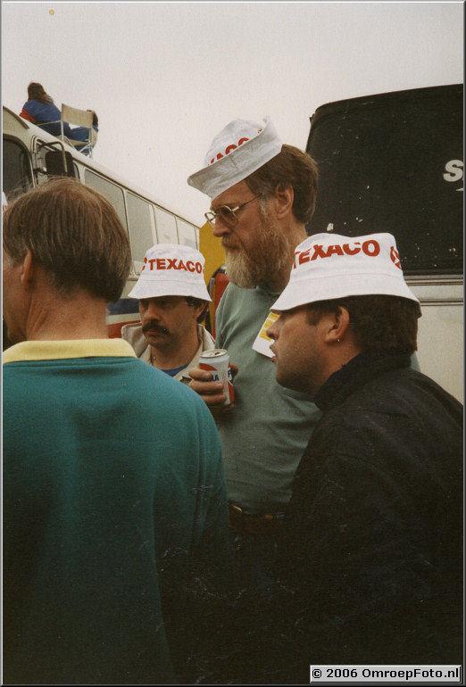 Foto 8-151. TT Assen Gert Rietveld, Gerrit en Webmaster Wim 19??