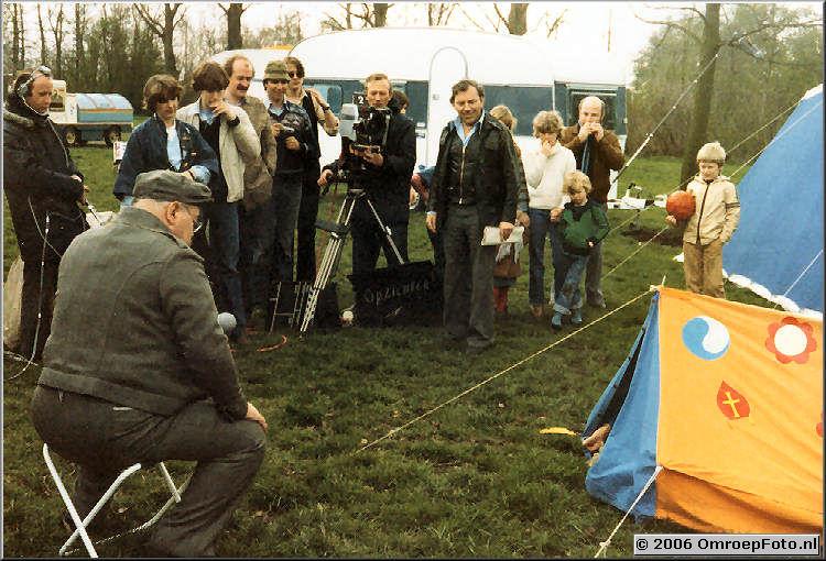 Foto 9-165. Ren� de Hond, Loma van Willegenburg, Wout de Wit en Bob L�wenstein