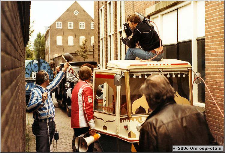Foto 9-177. Ren�, Frans van Rhenen, Kees Postuma en Bob