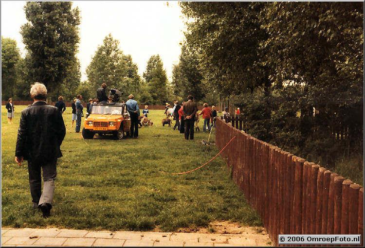 Foto 10-198. Dan nog een shot van de kinderboerderij met Ruud en Adse
