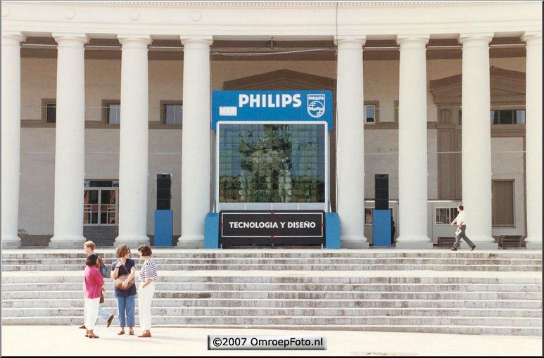 Doos 100 Foto 1981. HD scherm demonstratie 1993