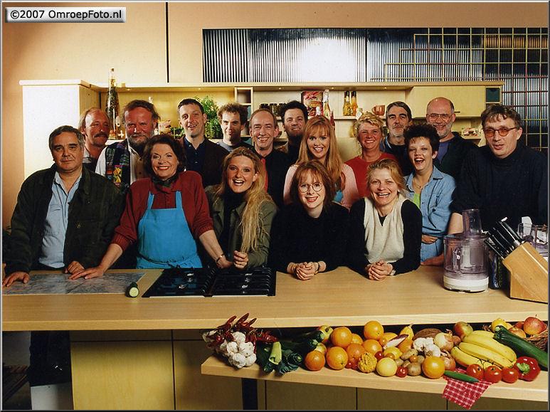 Doos 101 Foto 2014 Almere - 'Kook-tv', met kok Ria van Eindhoven en Manon Thomas