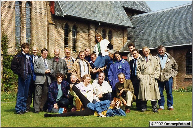 Doos 102 Foto 2025. Ameland, KRO/RKK met Wim van Baarle