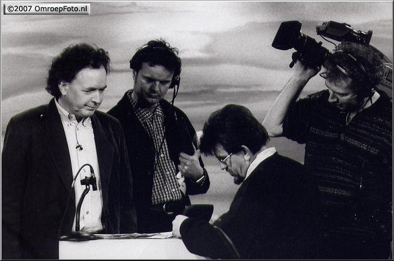Doos 107 Foto 2133. Oa. Dick Bol en René Verhagen bij 'Paul Haenen'