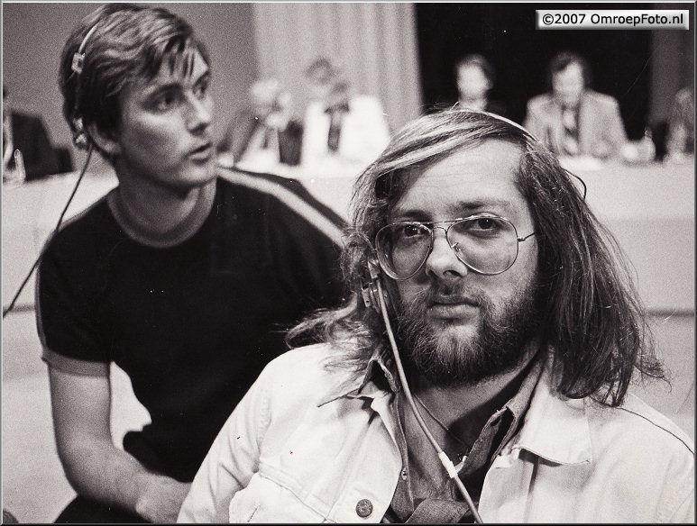 Doos 109 Foto 2161. Verkiezingen 1974 Han Schil en Bob Luwer