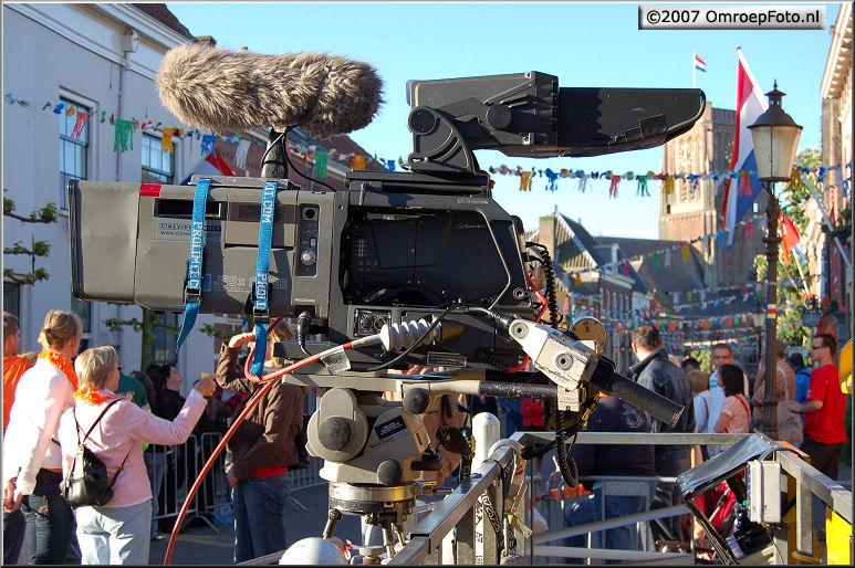 Doos 122 Foto 2431. Koninginnedag 2007 in Woudrichem