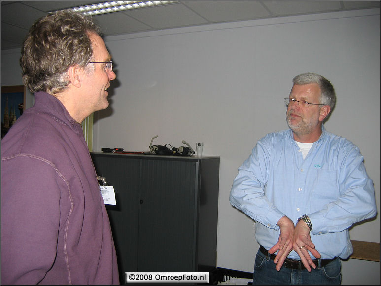 Doos 125 Foto 2486. Training LDK-8000. Ed van Rijn en trainer van Thomson Jan Paul Campman
