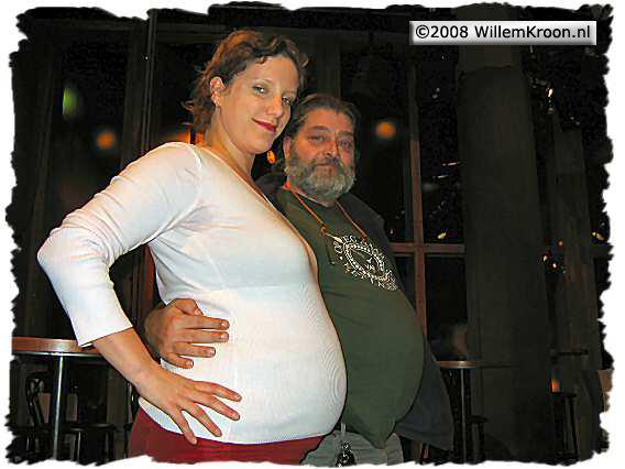 Doos 127 Foto 2525. De beroemde 'ik ben zwanger'- foto
