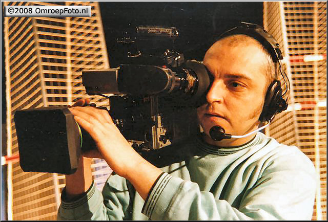 Doos 127 Foto 2538. Camera opleiding bij de opstart actualiteitencentrum. plm. 1990