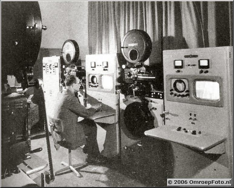 Foto 13-244. Filmruimte in de Vitus Studio