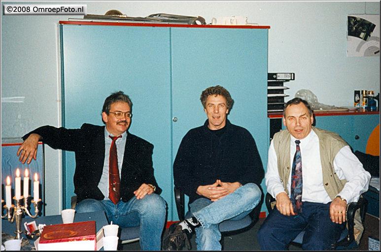 Doos 131 Foto 2602. Paul Scheffer, Rod de Gooijer en Wim Emest