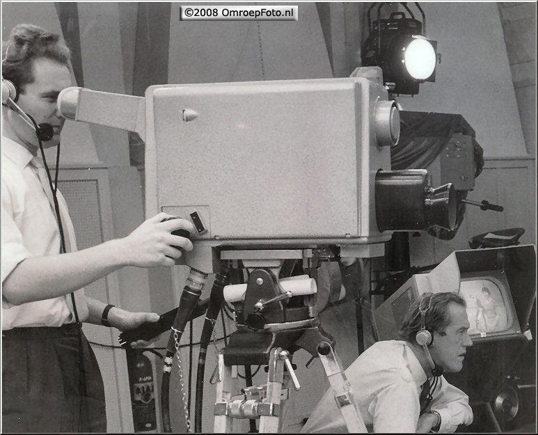 Doos 132 Foto 2633. 20 jaar geleden werd met de eerste HD televisie camera opnames op BCH werden gemaakt