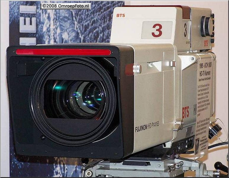 Doos 132 Foto 2634. 20 jaar geleden werd met de eerste HD televisie camera opnames op BCH werden gemaakt