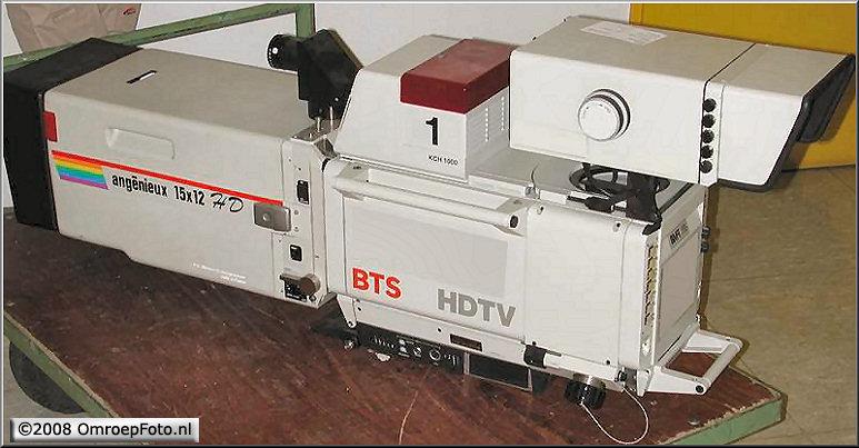 Doos 132 Foto 2635. 20 jaar geleden werd met de eerste HD televisie camera opnames op BCH werden gemaakt