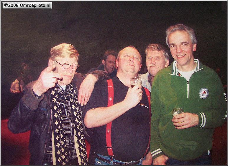 Doos 133 Foto 2641. Henk, Ricus, Ben en Paul