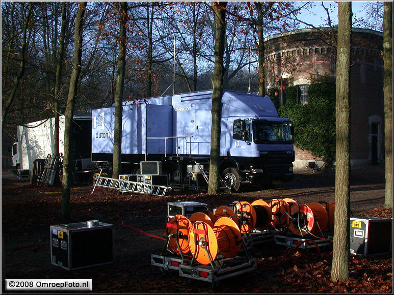 Doos 133 Foto 2654. Wagens bij Orangerie Soestdijk Bijzetting Bernard