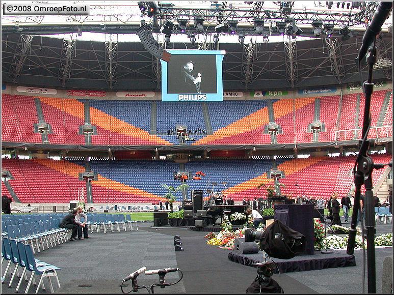 Doos 134 Foto 2677. Afscheidsceremonie Hazes, Arena 2004