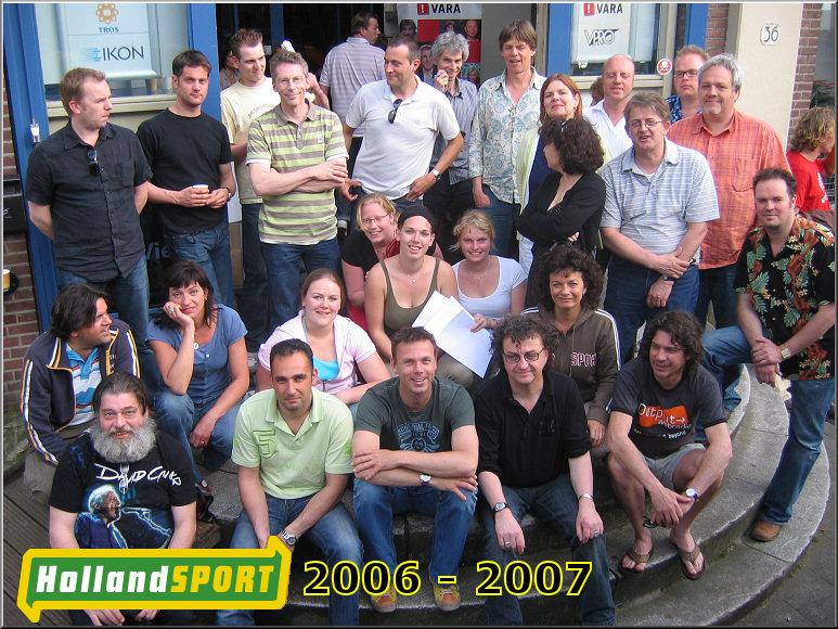 Doos 139 Foto 2770. Groepsfoto Holland Sport 2007
