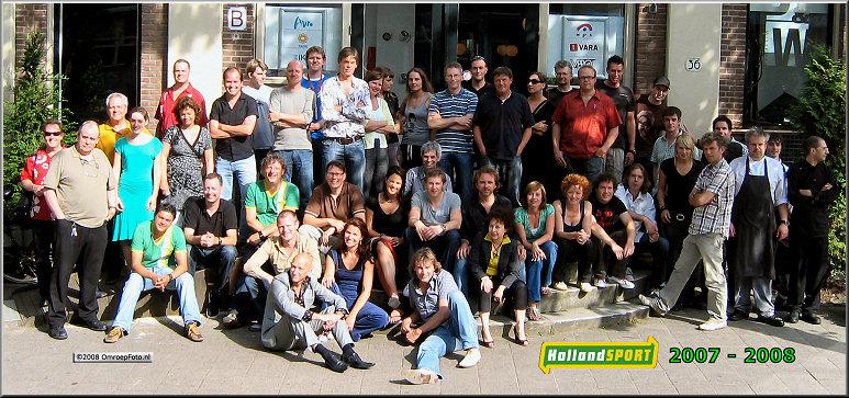 Doos 139 Foto 2771. Groepsfoto Holland Sport 2008