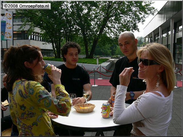 Doos 139 Foto 2775. Receptie van Marcel  Verlaan, Michell Moon en Lilian Kersbergen en Jeffrey