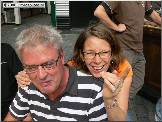 Doos 139 Foto 2777. Receptie van Marcel  Verlaan, Evelien Hulst en Paul Vos
