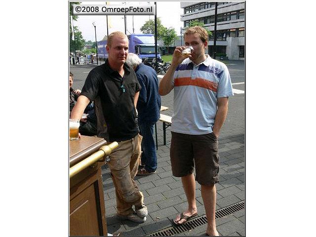 Doos 139 Foto 2778. Receptie van Marcel  Verlaan , Mick Schinkel en Marcel Veerlaan