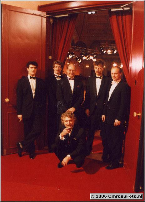 Foto 14-279. Lichtploeg Kerstconcert 1988