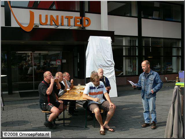 Doos 140 Foto 2781. Receptie van Marcel  Verlaan, Hans Kneght