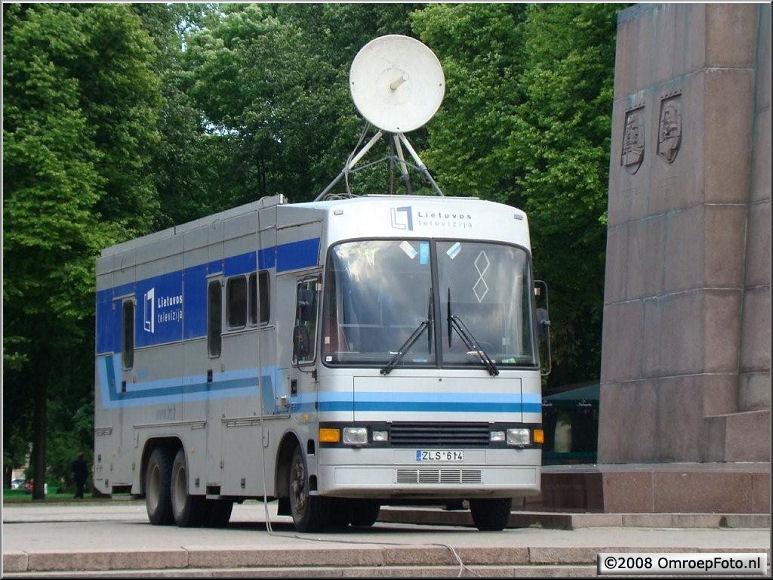 Doos 141 Foto 2801. Reportagewagen uit Vilnius, Litouwen