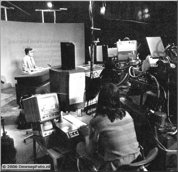 Foto 15-295. Studio 5, Journaal (tijdelijk onderkomen)