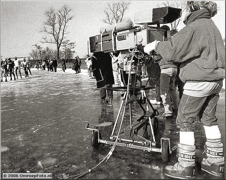Foto 15-297.Elfstedentocht 1985