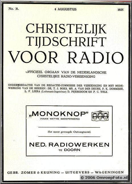 Foto 16-317. Het woord MonoKnop is al heel oud