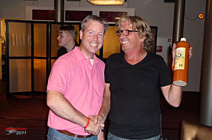 Op deze OmroepFoto : Harry met Bart van Hooff