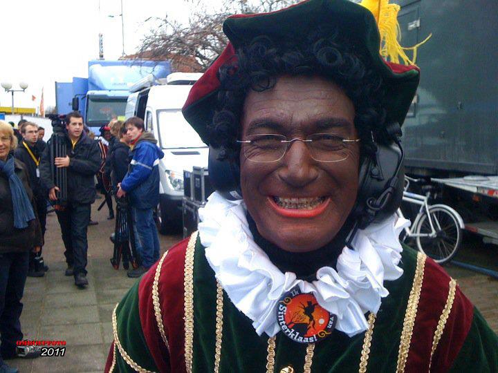 Doos 164 Foto 3270. Frans Fokking als zwarte Piet