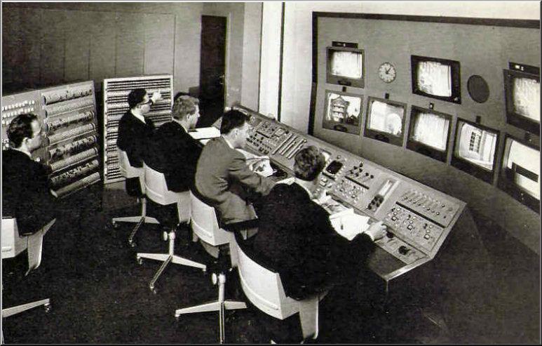 Foto 19-378.CCK van Studio-1 Piet Storm, Hans van Dordrecht, Han van den Broek en Kees kamphorst