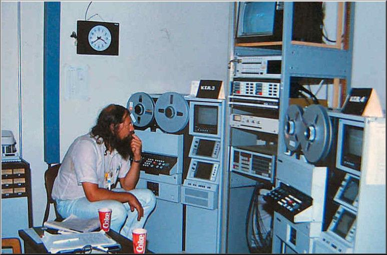 Foto 19-379.Olympische Spelen Los Angelos 1984 Adje Buursema & C-format VPR machines