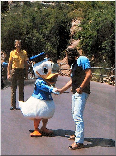 Foto 19-380.Olympische Spelen Los Angelos 1984 Adje Buursema en een Zweedse collega; Roar Gausted
