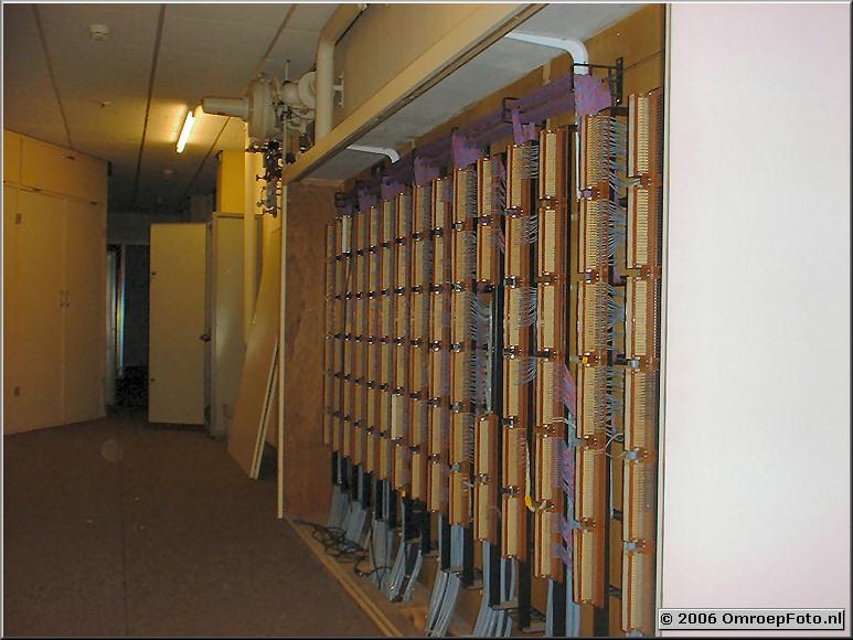 Foto 20-389. Audio-kabelverdeler, gebouwd door Jan Langhorst.Flexibiliteit ten top