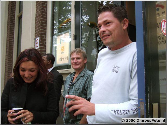 Foto 21- 404. Bir�an Unlu, Peter Belmer en Jeroen Jans
