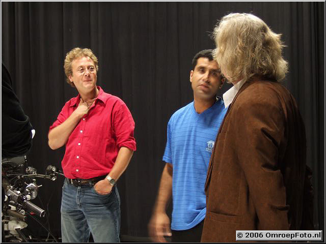 Foto 21-416.Emiel en Abdel en George Schouten