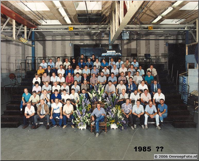 Foto 24-470. Arie Slingerland en zijn collega's